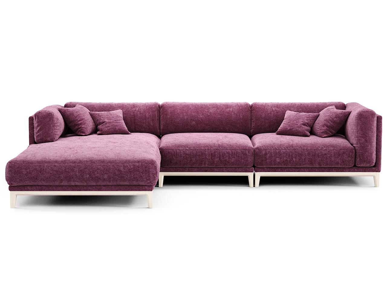 The idea диван case фиолетовый 108257/9