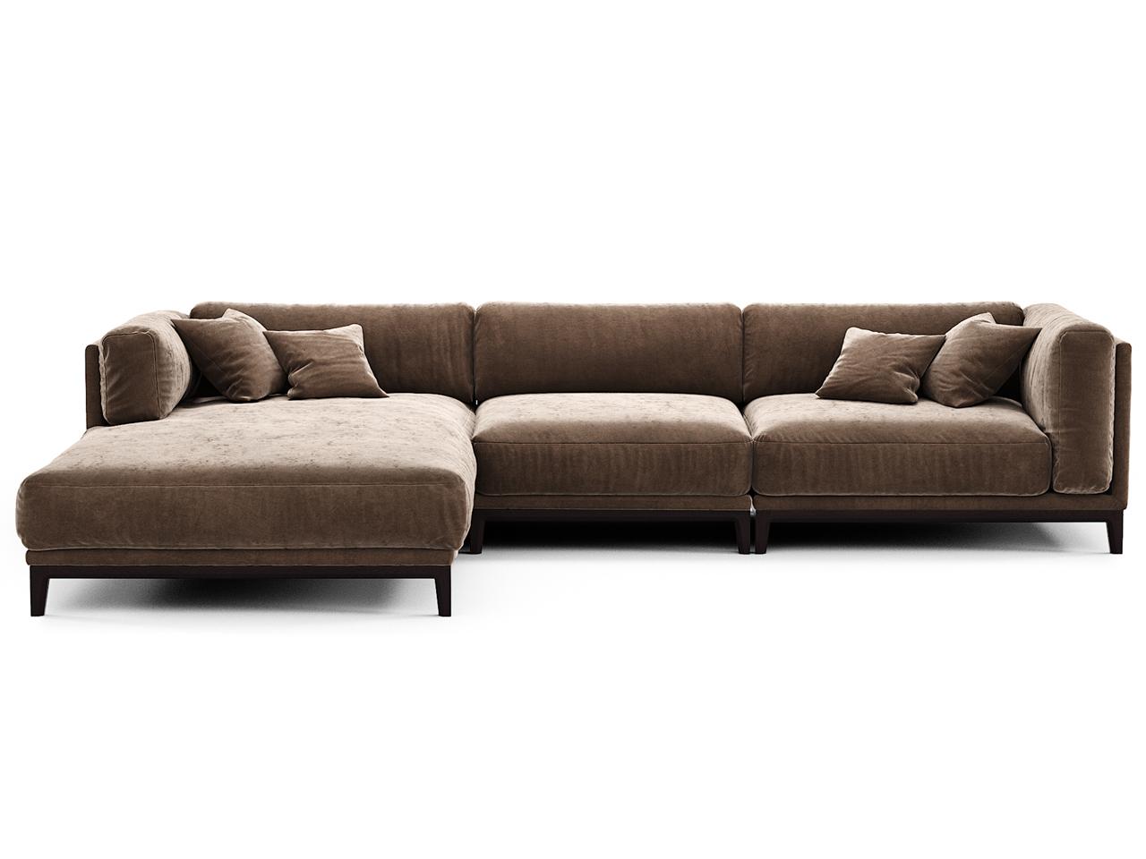 The idea диван case коричневый 108258/3