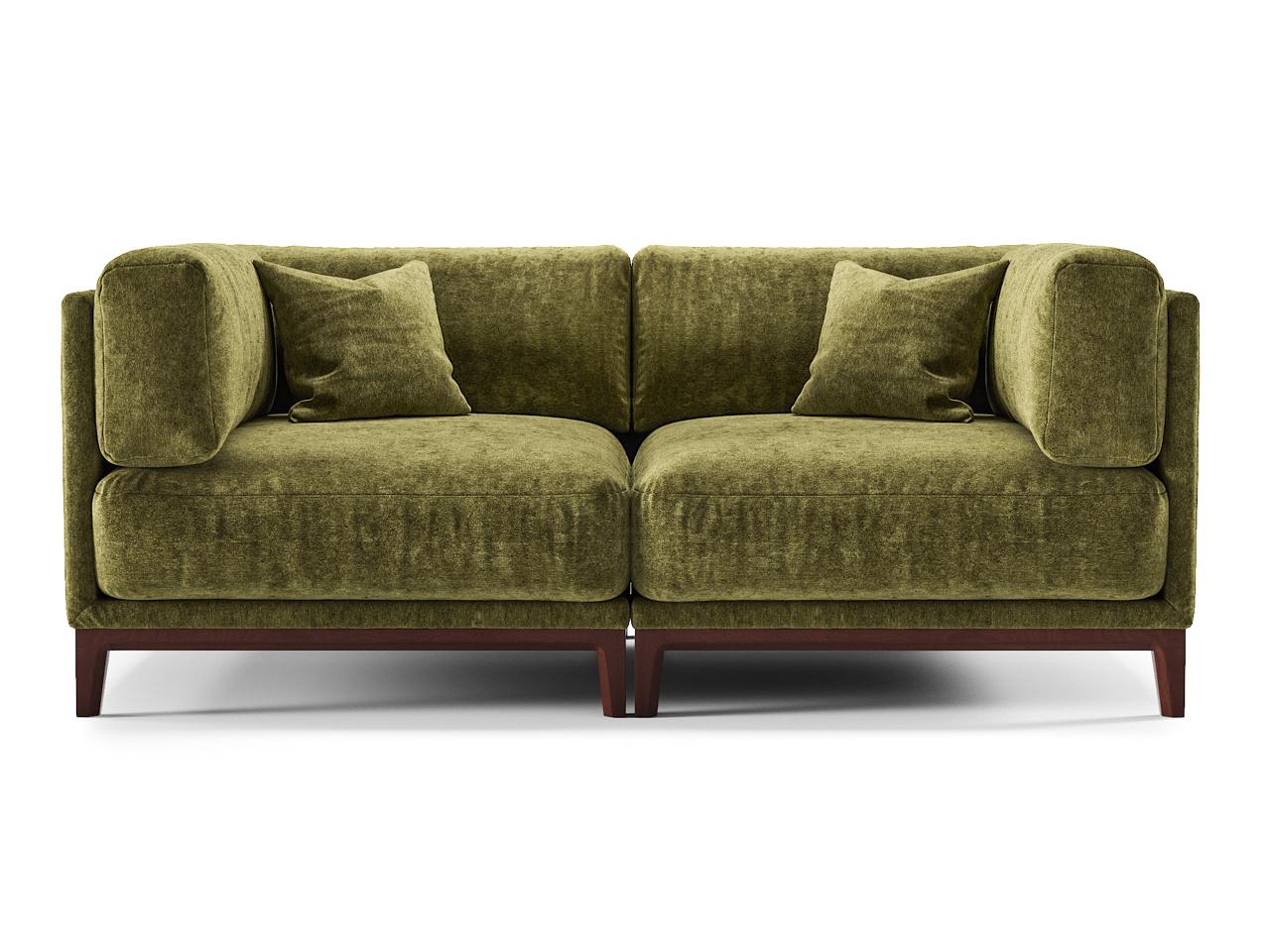 The idea диван case зеленый 108260/1