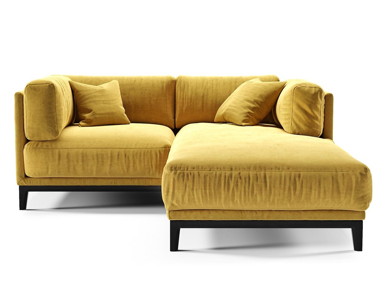 The idea диван case желтый 108287/1