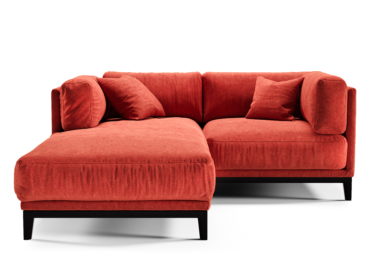 The idea диван case красный 108288/5
