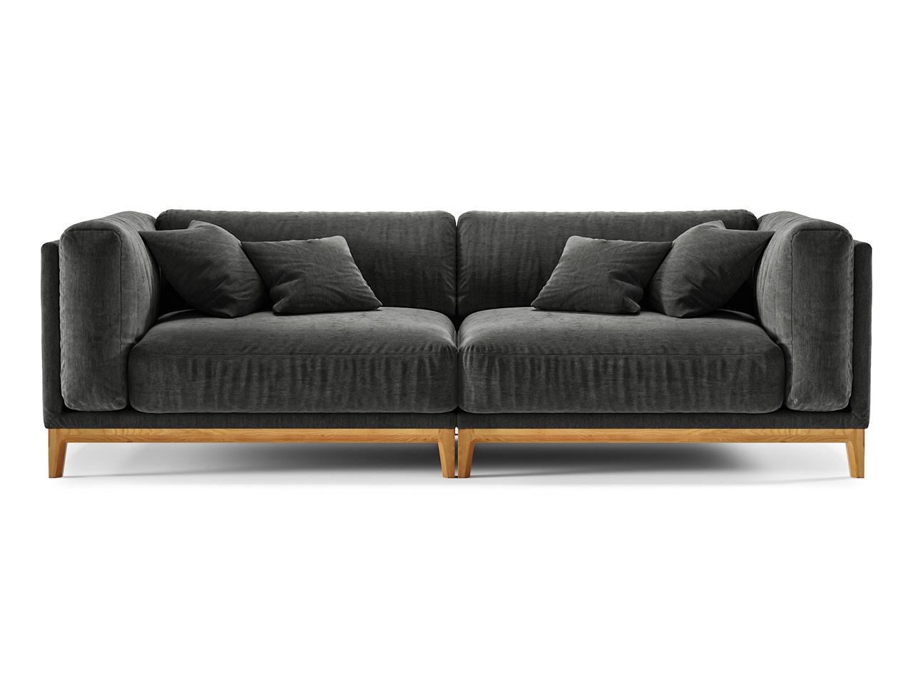 The idea диван case черный 108433/6