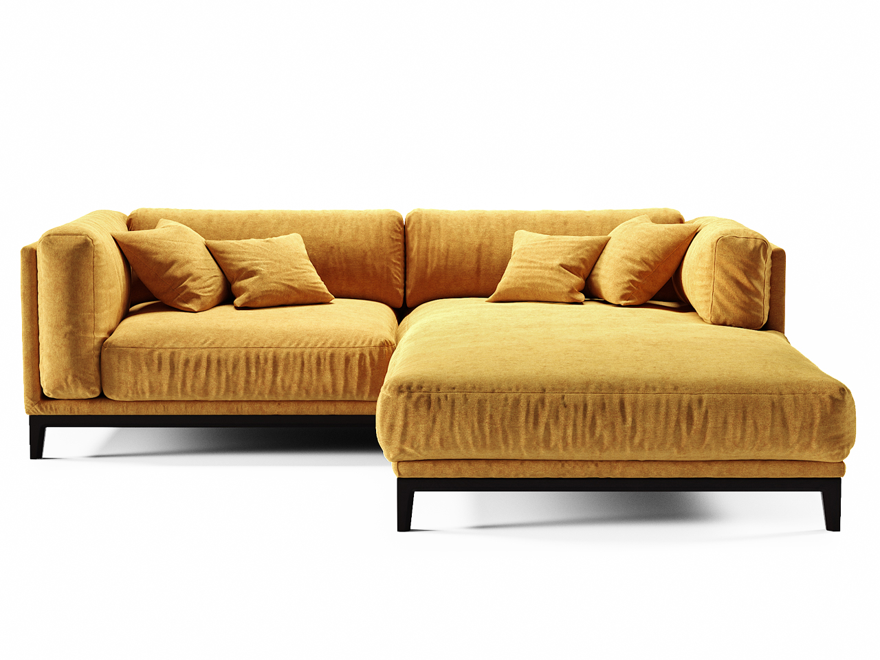 The idea диван case желтый 108436/6