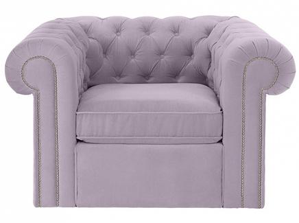 Кресло chesterfield (ogogo) фиолетовый 115x73x105 см.