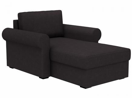 Кушетка peterhof (ogogo) черный 122x88x170 см.