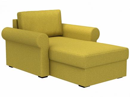 Кушетка peterhof (ogogo) желтый 122x88x170 см.