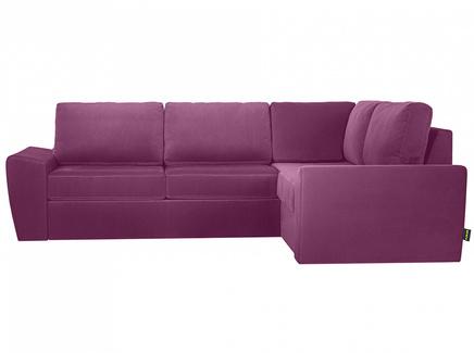 Диван peterhof (ogogo) фиолетовый 281x88x201 см.