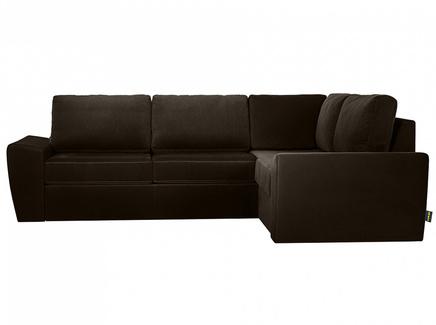 Диван peterhof (ogogo) черный 281x88x201 см.
