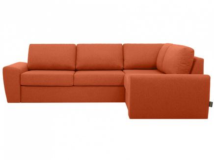Диван peterhof (ogogo) оранжевый 281x88x201 см.