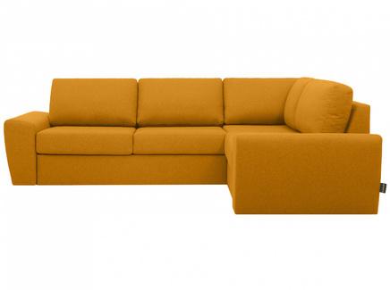 Диван peterhof (ogogo) желтый 281x88x201 см.