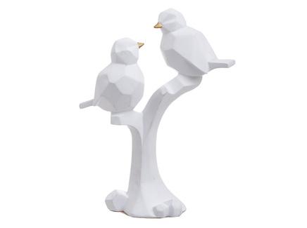 Декор настольный птички elreth (to4rooms) белый