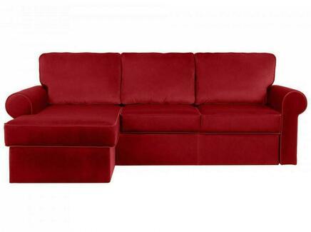 Диван murom (ogogo) красный 245x95x167 см.