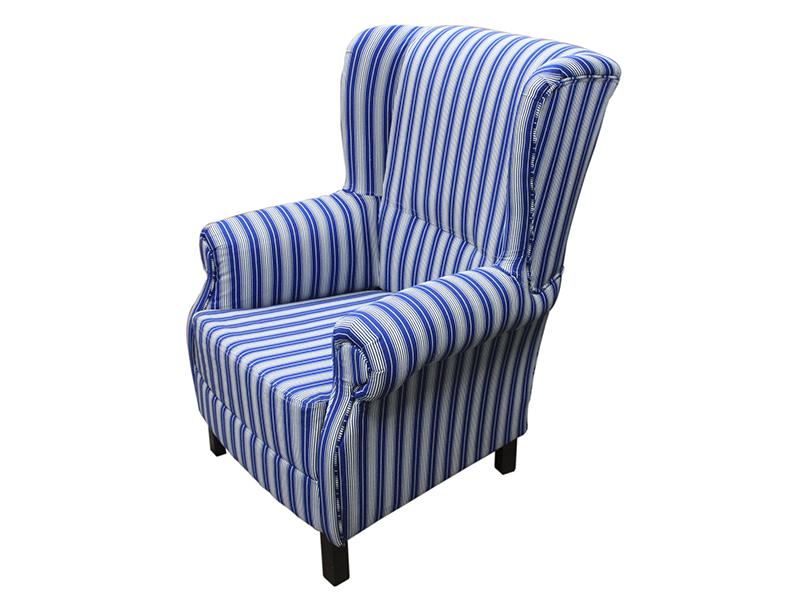 Кресло (benin) голубой 87x100x88 см.