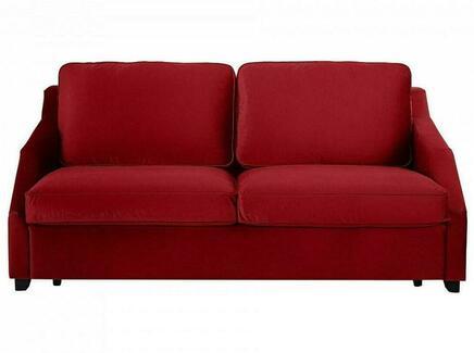 Диван-кровать windsor (ogogo) красный 215x90x102 см.