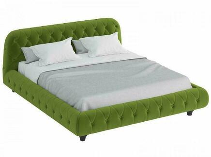 Кровать cloud (ogogo) зеленый 209x95x248 см.
