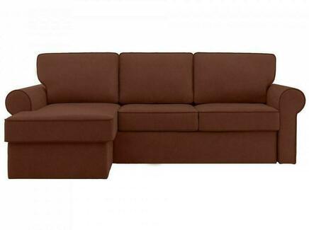 Диван murom (ogogo) коричневый 245x95x167 см.