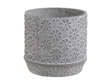 Кашпо norlorn (to4rooms) серый 17.5x16.0x17.5 см.