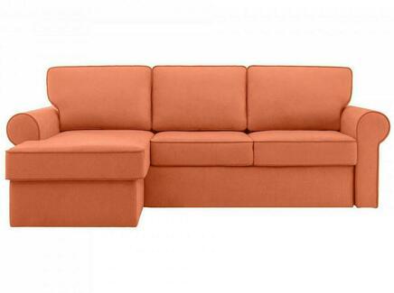 Диван murom (ogogo) оранжевый 245x95x167 см.