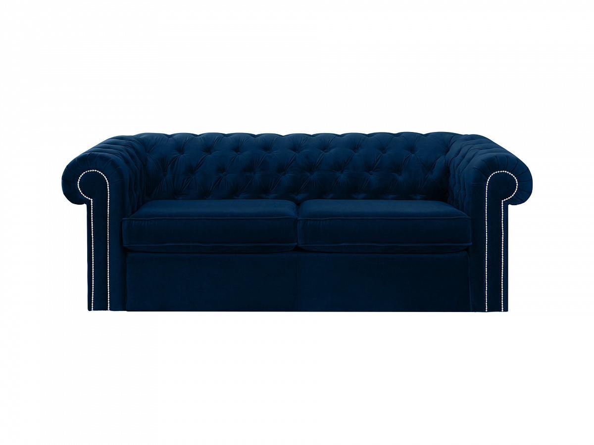Ogogo диван chesterfield синий 109163/6