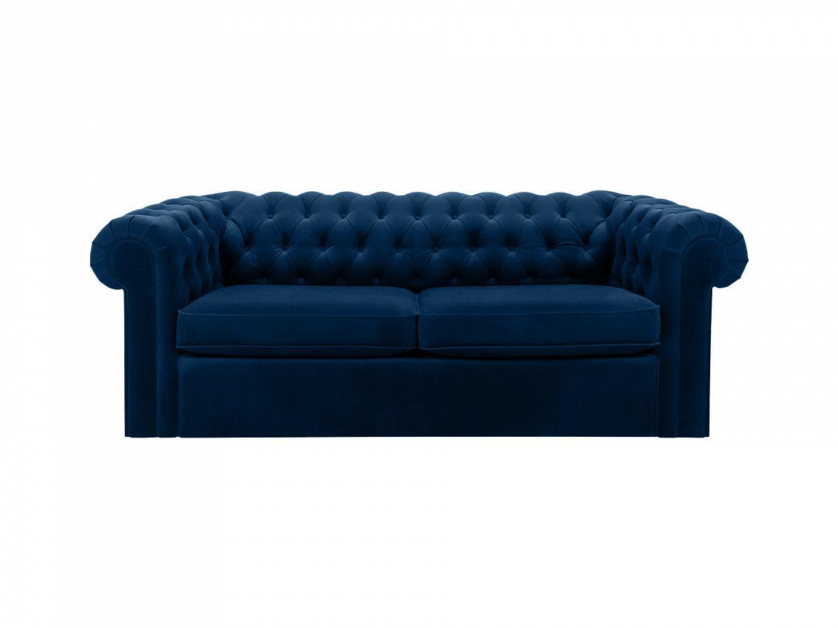 Ogogo диван chesterfield синий 109201/1