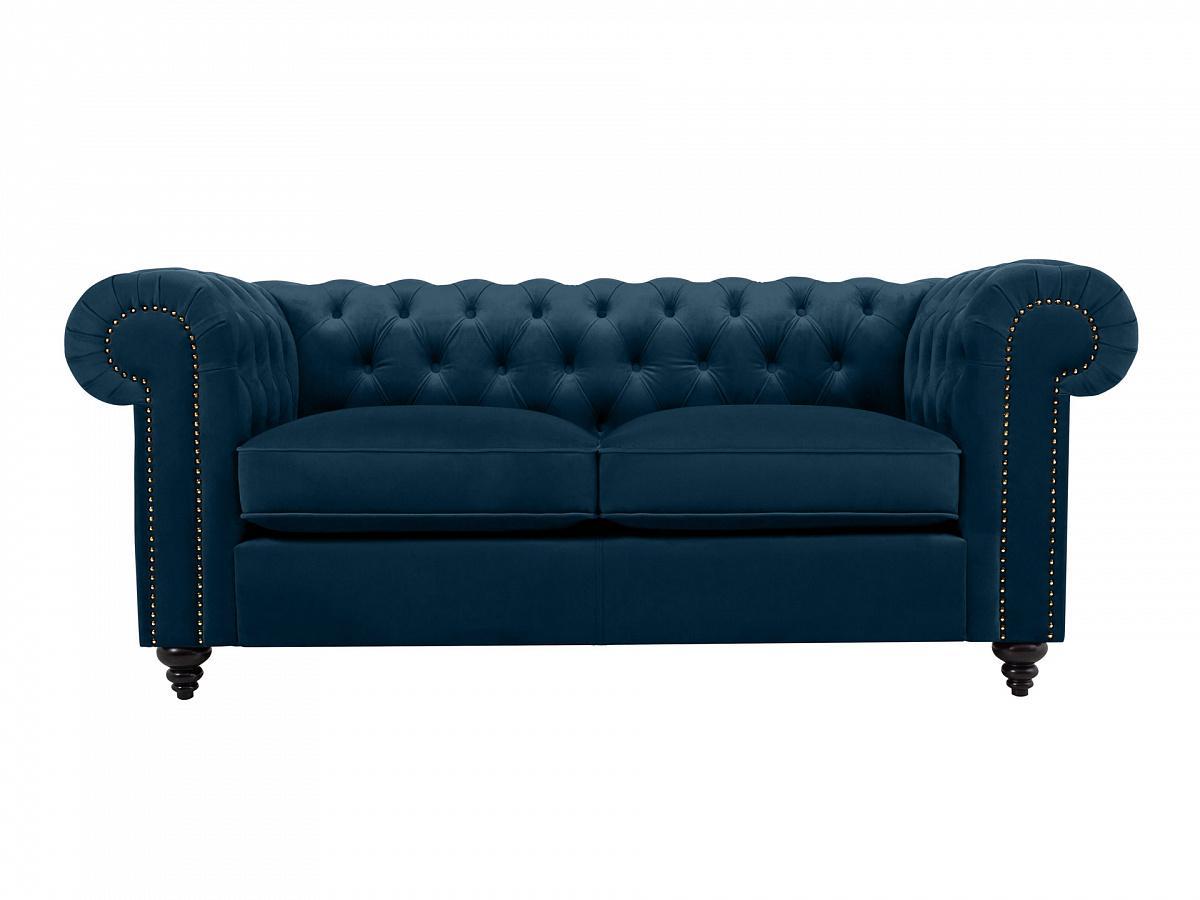 Ogogo диван chester classic синий 109223/6