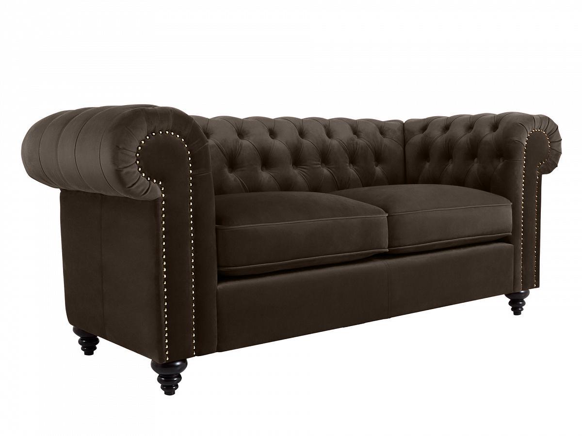 Ogogo диван chester classic серый 109226/109251