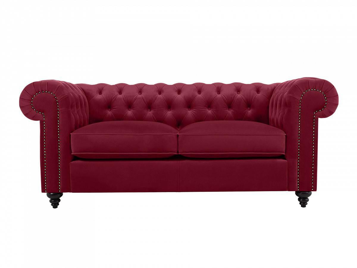 Ogogo диван chester classic красный 109227/7
