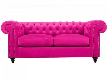 Диван chester classic (ogogo) розовый 183x75x80 см.