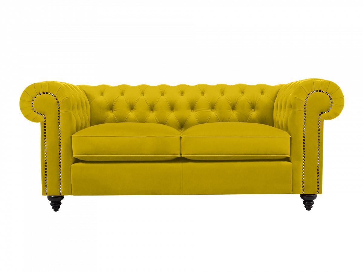 Ogogo диван chester classic желтый 109230/6