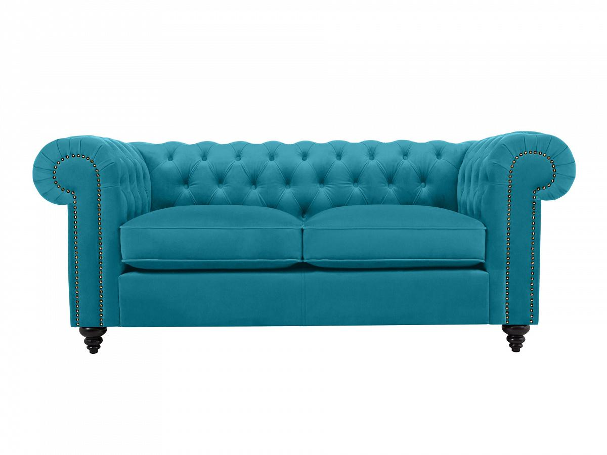 Ogogo диван chester classic бирюзовый 109231/1