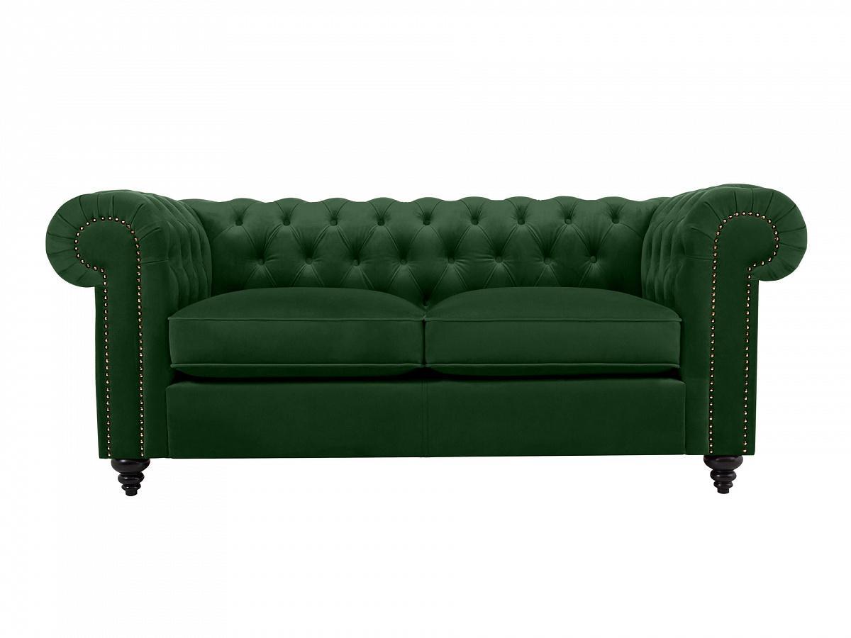 Ogogo диван chester classic зеленый 109233/1