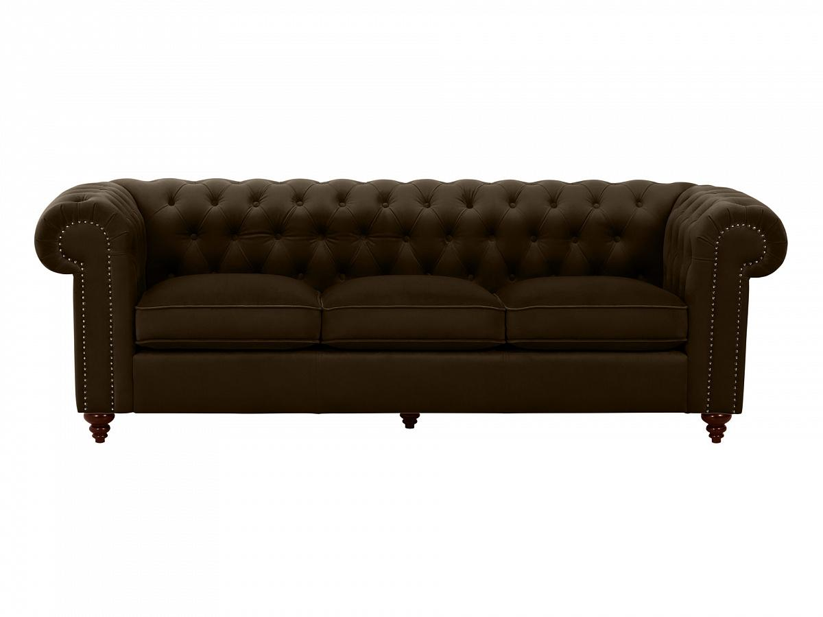 Ogogo диван chester classic коричневый 109235/3