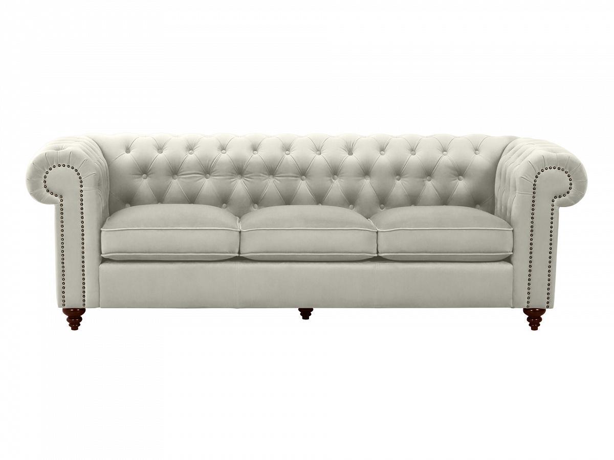 Ogogo диван chester classic серый 109289/3