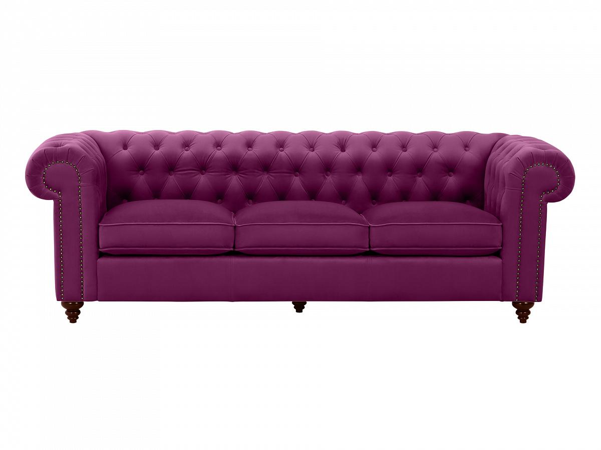 Ogogo диван chester classic фиолетовый 109294/2