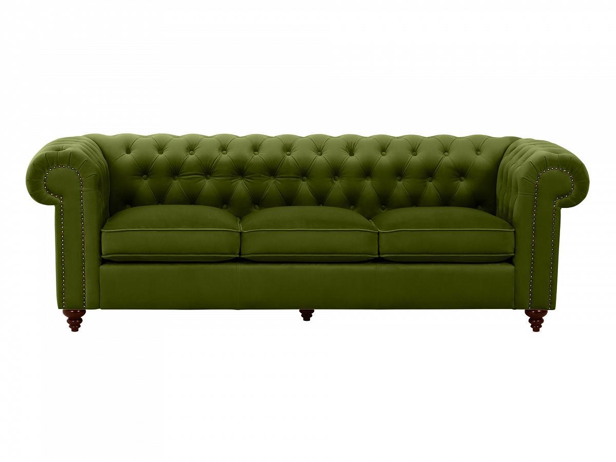 Ogogo диван chester classic зеленый 109298/9