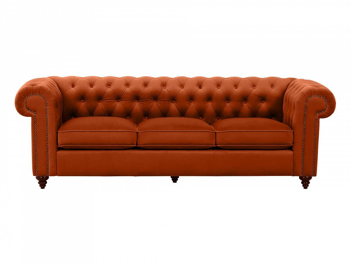 Ogogo диван chester classic коричневый 109299/1
