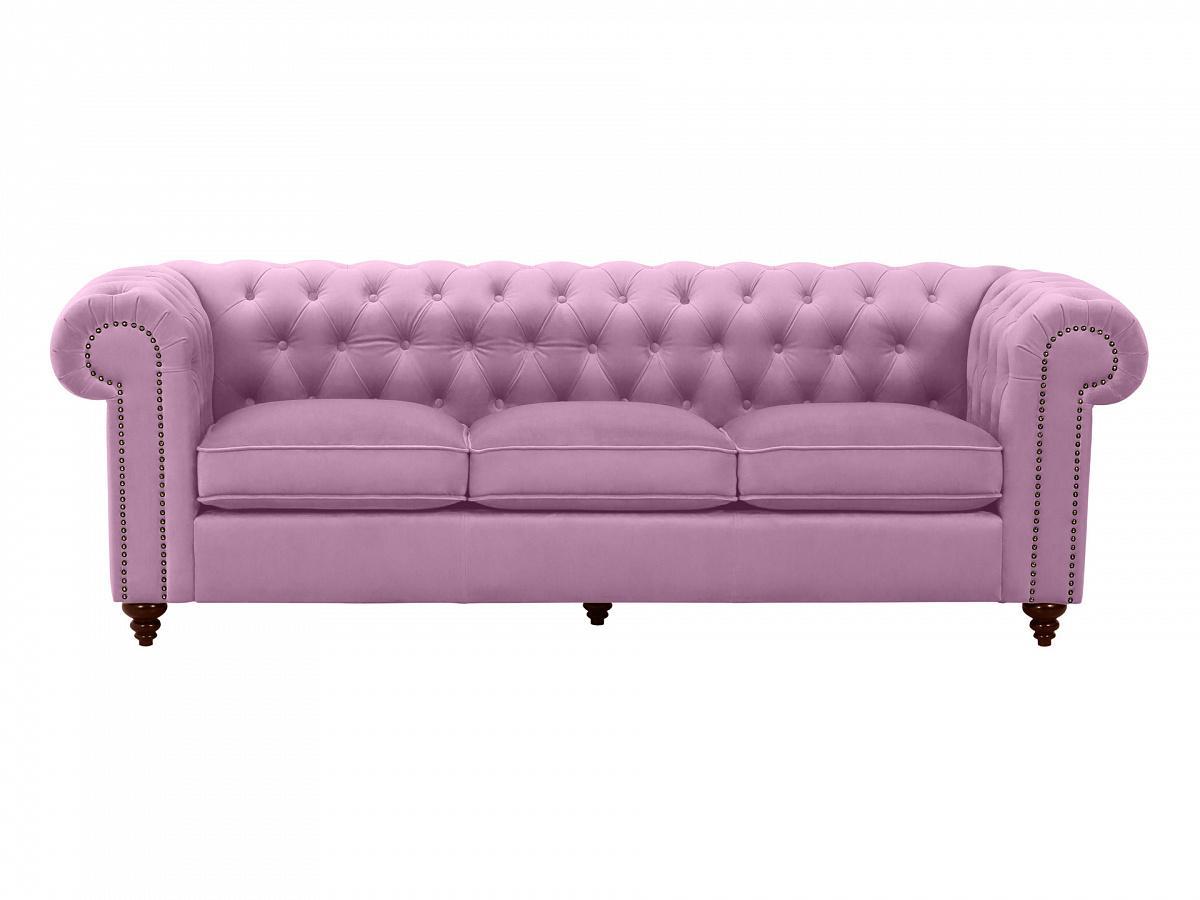 Ogogo диван chester classic фиолетовый 109302/1