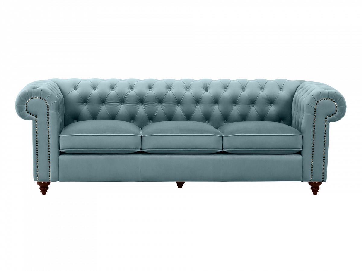 Ogogo диван chester classic голубой 109304/4