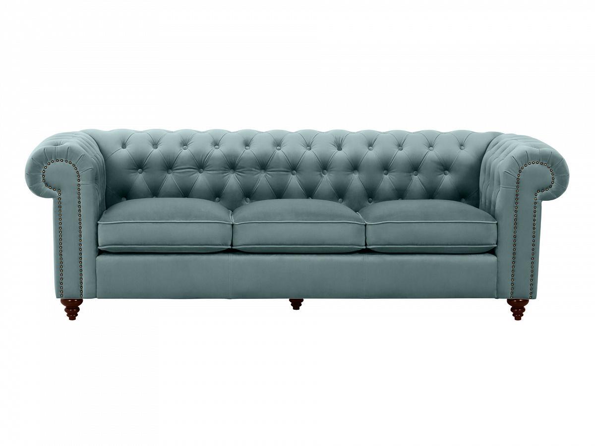 Ogogo диван chester classic голубой 109312/9