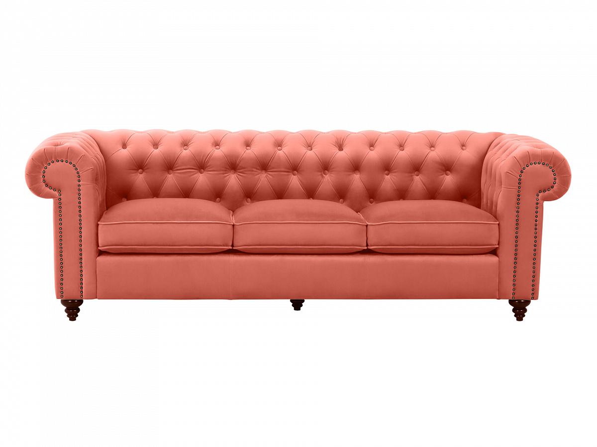 Ogogo диван chester classic оранжевый 109391/5