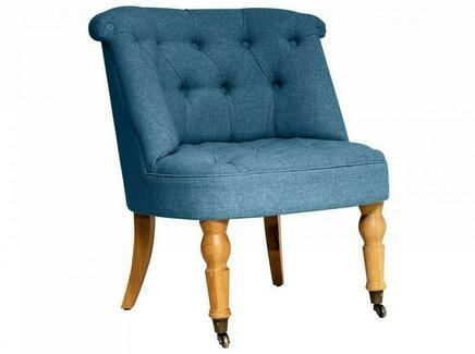 Кресло visconte (ogogo) голубой 70x76x65 см.