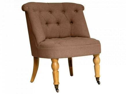 Кресло visconte (ogogo) коричневый 70x76x65 см.