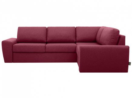 Диван peterhof (ogogo) красный 281x88x201 см.