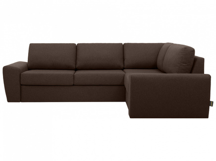 Диван peterhof (ogogo) коричневый 281x88x201 см.