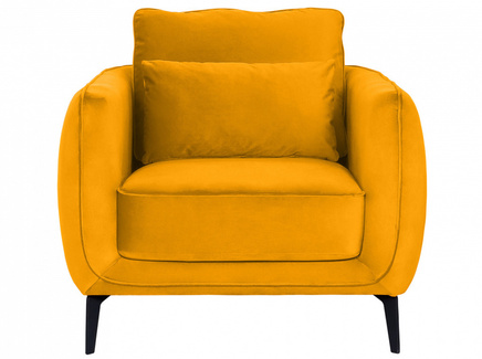 Кресло amsterdam (ogogo) желтый 86x85x95 см.