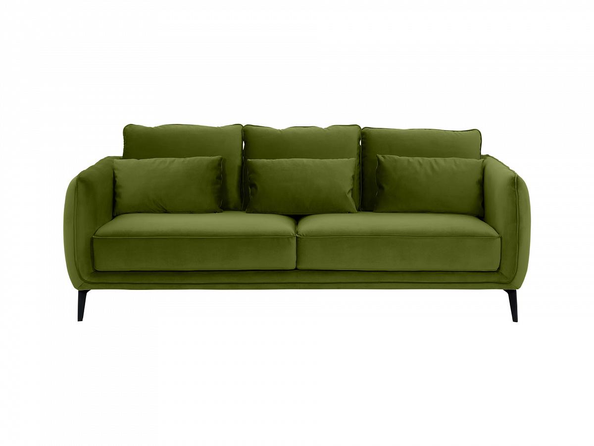 Ogogo диван amsterdam зеленый 109690/109717