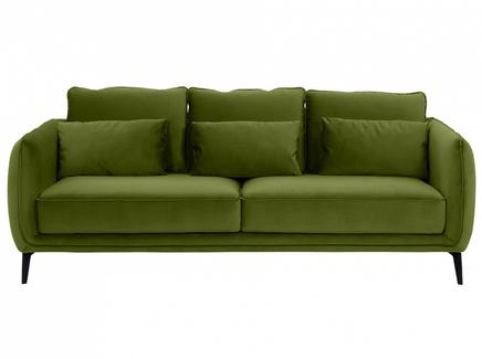Диван amsterdam (ogogo) зеленый 206x85x95 см.