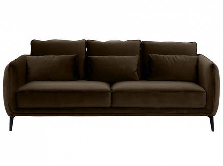 Диван amsterdam (ogogo) коричневый 206x85x95 см.