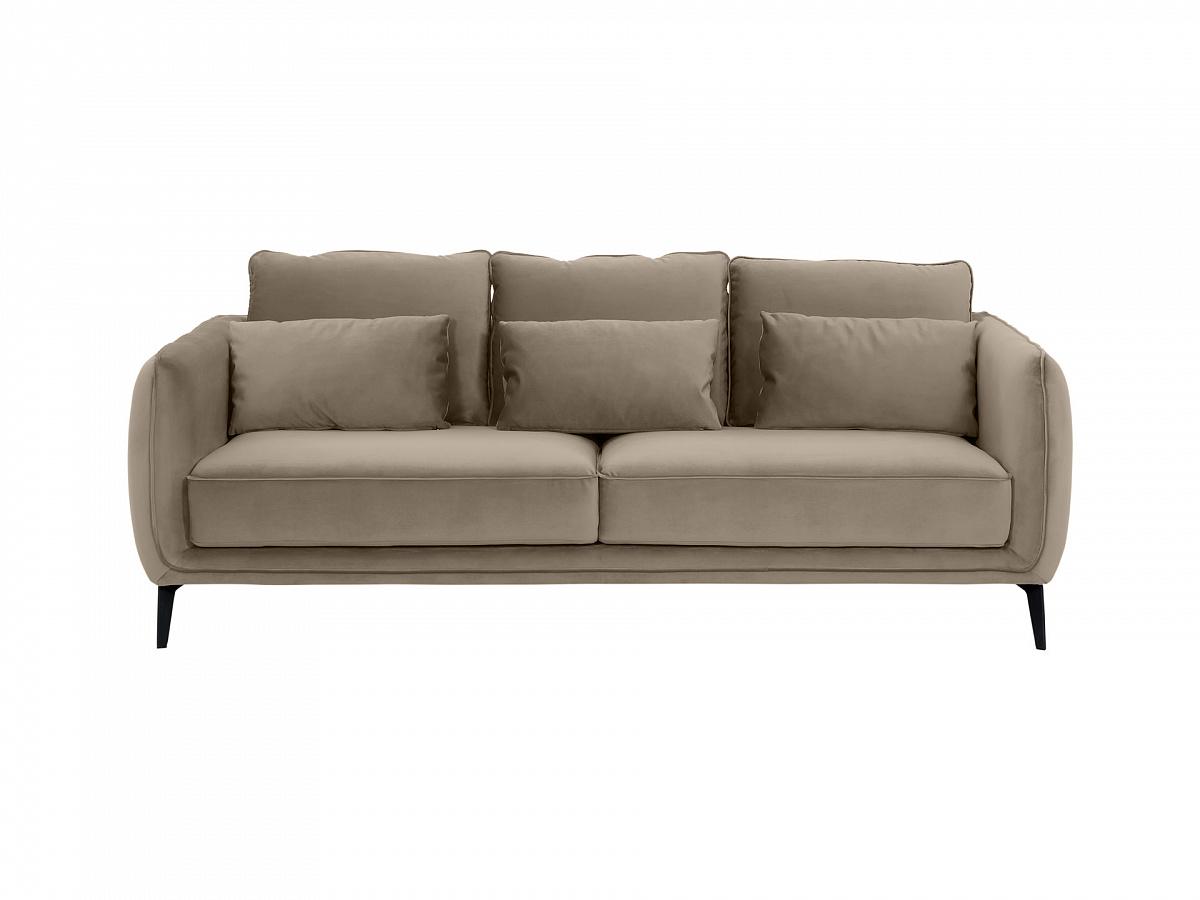 Ogogo диван amsterdam серый 109695/9