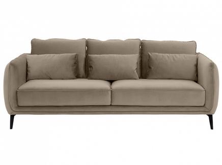 Диван amsterdam (ogogo) серый 206x85x95 см.
